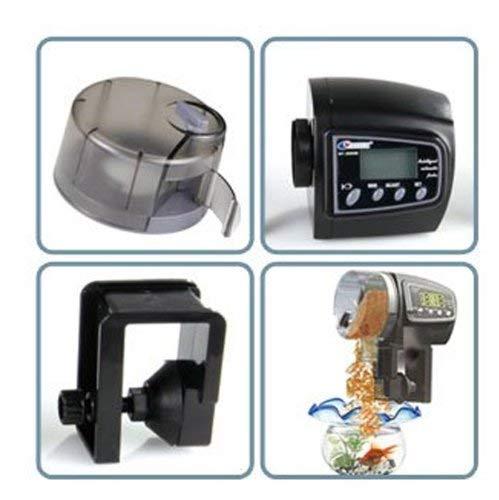 Fisch Futterautomat mit digitaler Timer fur Aquarium -FISH-FEED - 2