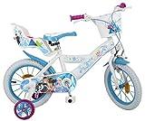 Disney 14 Zoll Kinderfahrrad Mädchenfahrrad Kinder Fahrrad Rad Frozen die...