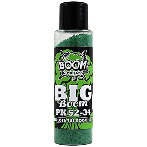 Boom Nutrients | Revienta cogollos Engorde para Flores | Big Boom PK 52-34 (50g)
