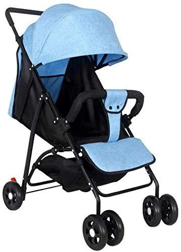 TYZXR Kinderwagen für Neugeborene und Kleinkinder - Cabrio Kinderwagen Compact Single Baby Carriage Kleinkindsitz Kinderwagen Kinderwagen, D, B