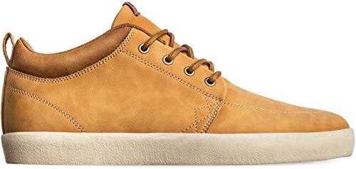 Globe Men's Skate Shoe, Light Brown/Crepe, 8.5