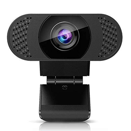Huryfox cámara Web con micrófono, cámara Web USB 2.0 PC para Streaming, cámara Web Full HD 1080P para computadora, videollamadas, Estudio, Conferencia, grabación, transmisión en Viv