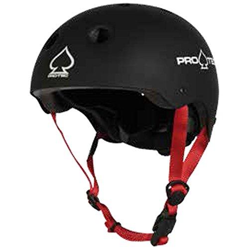 Pro-Tec Helmet JR Classic Fit Certified Skateboard Helm Unisex Erwachsene, Schwarz (Matte Black), S