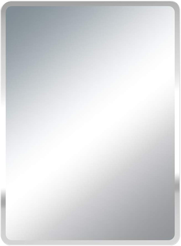 Mirror, Explosion-Proof Bathroom Mirror, Rectangular Mirror, Borderless Vanity Mirror, Wall Mirror, Multi-Size Optional