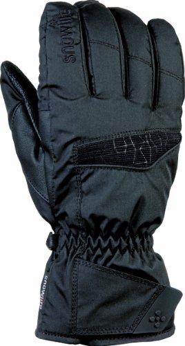 Snowlife ® Popular Glove Herren Skihandschuh -Black M/M