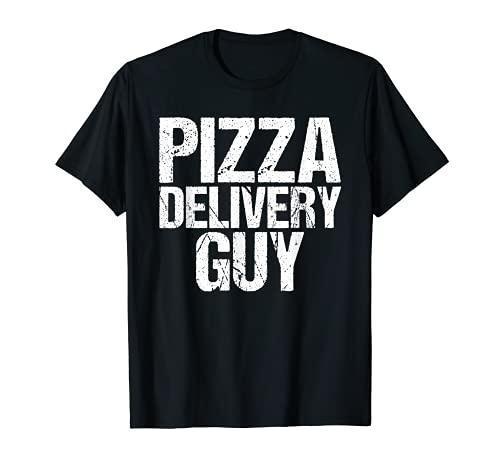 Disfraz de pizza para entrega, divertido italiano Camiseta