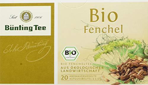 Bünting Tee Bio Fenchel 20 x 2.5 g Beutel (1 x 50 g)