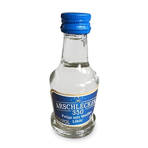 Partypack Wodka Feige Original Sepp Bumsinger's Arschlecken 350 - Likör 25 x 2 cl 20% vol.