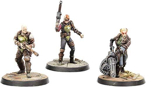 Fallout Wasteland Warfare Ack Ack, Sinjin & Avery Fallout Minis