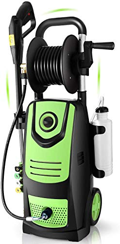 Suyncll 3800 PSI 2.8GPM Electric Pressure Washer Electric Power Washer with Soap Bottle and Hose...