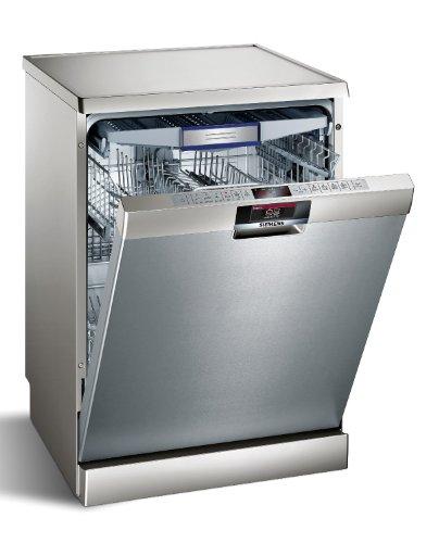 Siemens SN26V891EU Lavavajillas independiente/A+ A / 14 Plazos a medida / 60 cm/Silver Inox/VarioSpeed plus/VarioCajón Plus