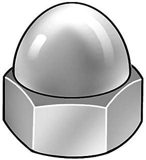 7//16-14-Inch The Hillman Group 943116 Chrome USS Acorn Nut 2-Pack