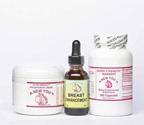 Breast Enhancement/Enlargement Pack for Crossdressing Men and Trans-Women