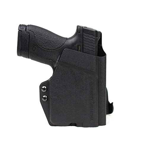 Priority 1 Holsters OWB Holster for M&P Shield with Streamlight TLR-6 - Paddle Holster - Right Handed - Kydex Outside The Waistband