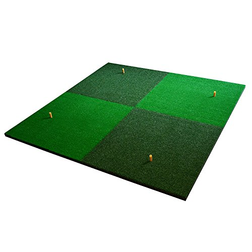 Review ChenCheng Golf Swing Blow Mat Outdoor Practice Blanket 150×150cm Outdoor Sport