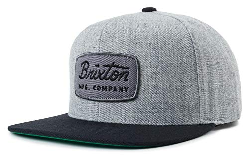BRIXTON Cap Jolt Snapback Heather Grey/Black