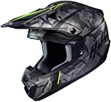 HJC Helmets Casco de motocross HJC CS-MX II Sapir negro/amarillo, L (59/60) 17777309