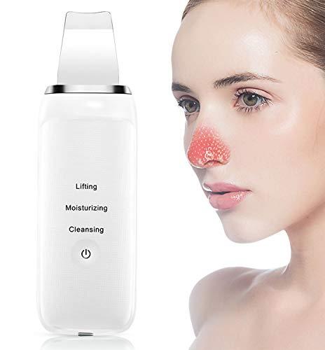 Skin Scrubber - TOPNaturePlus Blackhead Remover - 3 in 1 Ultrasonic...