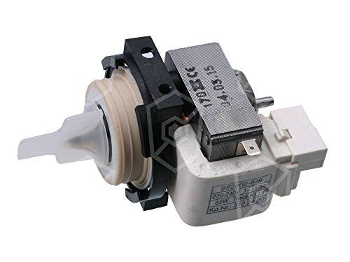 Winterhalter Ablaufpumpe HANNING Typ BE20B2-076 für Spülmaschine 230V 65W 50Hz ohne Deckel