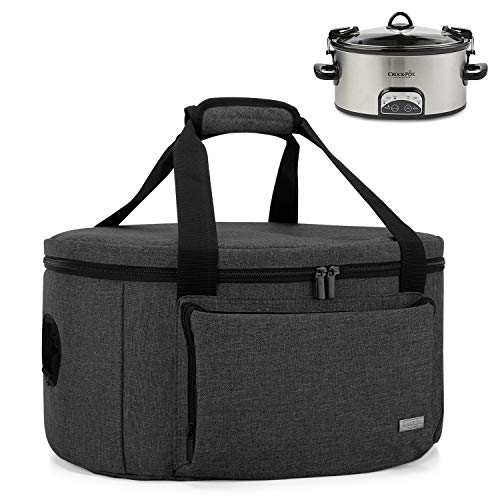Luxja Insulated Slow Cooker Bag ...