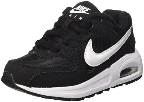 Nike Jungen AIR MAX Command Flex (PS) Traillaufschuhe, Schwarz (Black/White/White 011), 28 EU