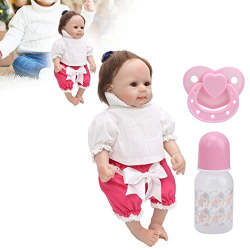 Livsliga återfödda dockor, realistiska babydockor Girl Soft Touch för Xmas för åldrarna 3+