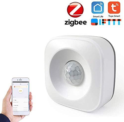 Tuya Zigbee Hub, Smart Home PIR Sensor, Temperatur und Humidity-Sensor, Home Automation Scene Security Alarm Kit, ZB-Pir sensor, 1