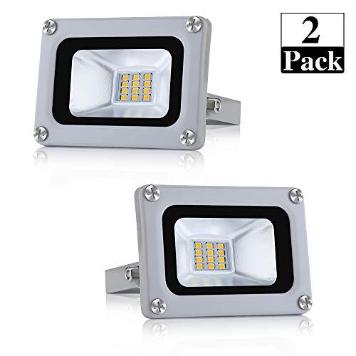 professionnel comparateur Projecteur extérieur LED 10W 800lm Éclairage de secours Éclairage paysager 6500K Blanc froid… choix