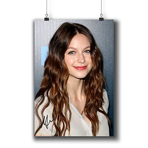 Pentagonwork 492 Fotoposter Melissa Benoist Schauspielerin A4|8x12 inch|21x29cm 492-002(Reprint Signed)