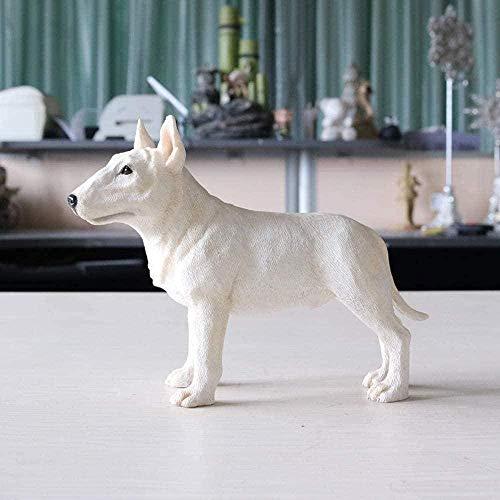 YsKYCA Statuetta,figurina Semplice artigianato moderno Bar Cafe Soggiorno Decorazioni Regalo di nozze Figurine Ornament Accessories Bulldog Dog Car Model Craft Town House Collection