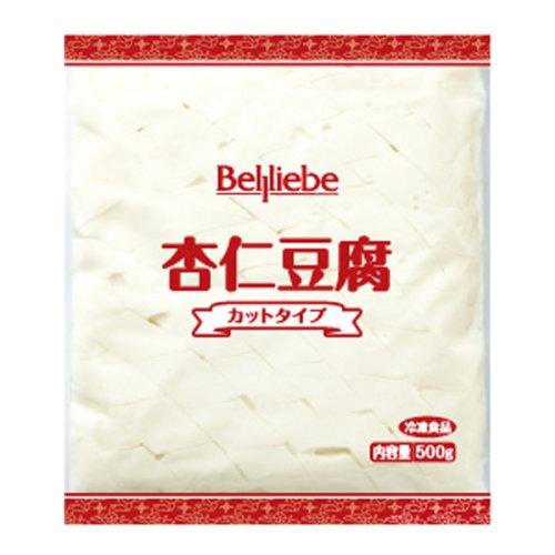 ベルリーベ 杏仁豆腐(カットタイプ) 500g【冷凍】【UCCグループの業務用食材 個人購入可】【プロ仕様】