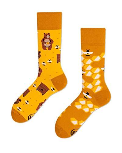 Many Mornings unisex Socken Honey Bear (43-46)