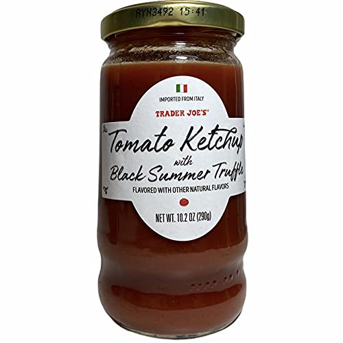 Trader Joe's Tomato Ketchup with Black Summer Truffle, 10.2 Oz (Pack of 1)