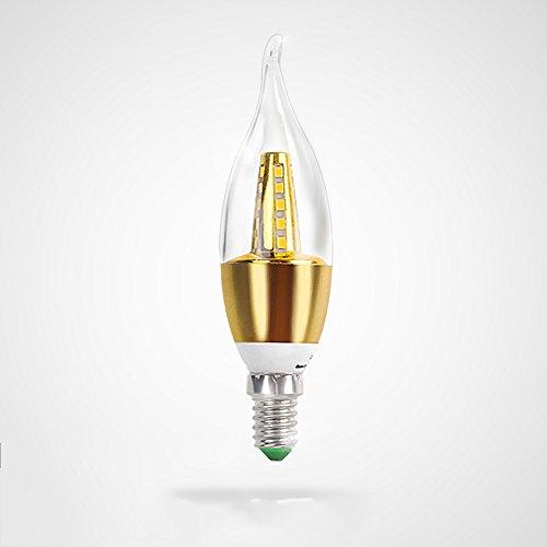 Lamp LU Lustre Source De Lumière Ultra-Lumineux D'économie D'énergie LED Une Ampoule E14 5w7w (Couleur : B, Taille : 7W)