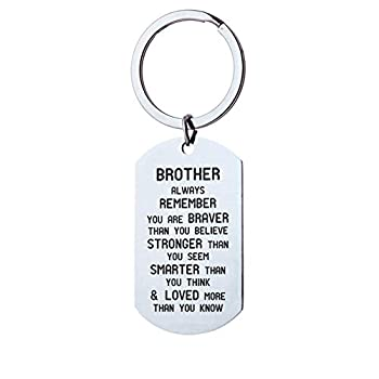 Best brother keychain Reviews