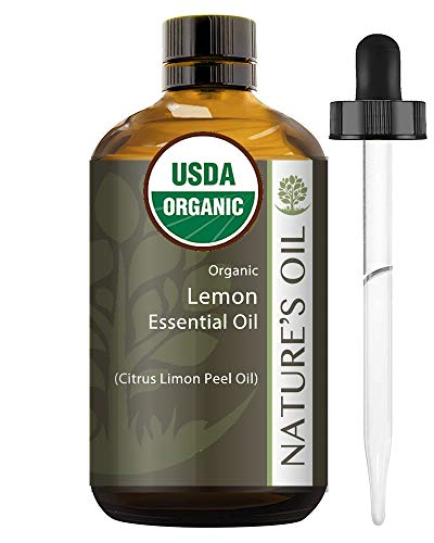 Best Lemon Essential Oil Pure Certified Organic Therapeutic Grade 60Ml