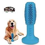 MEKEET Cepillo de Dientes para Perros Dog Brushing Stick Limpieza de higiene Dental Cuidado Oral para Mascotas Juguete no tóxica para Limpieza-Perro Cuidado bucal Dental (Azul)