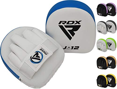 RDX Handpratzen Kinder Kampfsport Boxen Pads Boxpads Schlagpolster Junior MMA Kickboxen Muay Thai Training Schlagkissen (MEHRWEG)