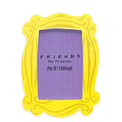 Silver Buffalo Friends Yellow Picture Frame | Monica's Yellow Peephole...