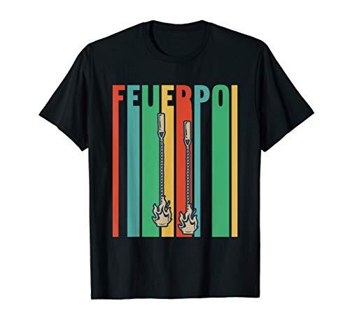 Feuer-Poi Geschenk für Feuerkünstler T-Shirt