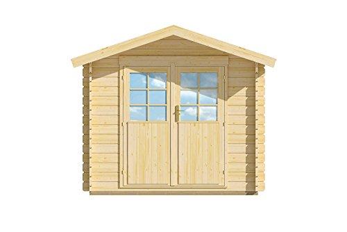 lillevilla LV21Gartenhaus Holz natur 280x 299x 240cm