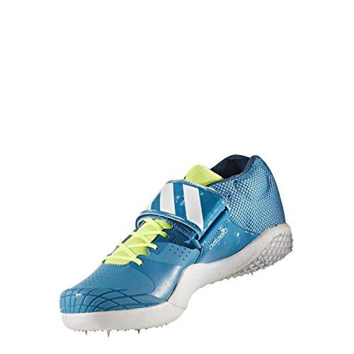 adidas Unisex-Erwachsene Adizero Javelin Laufschuhe, Mehrfarbig (Petmis/Ftwbla/Petnoc), 50 2/3 EU