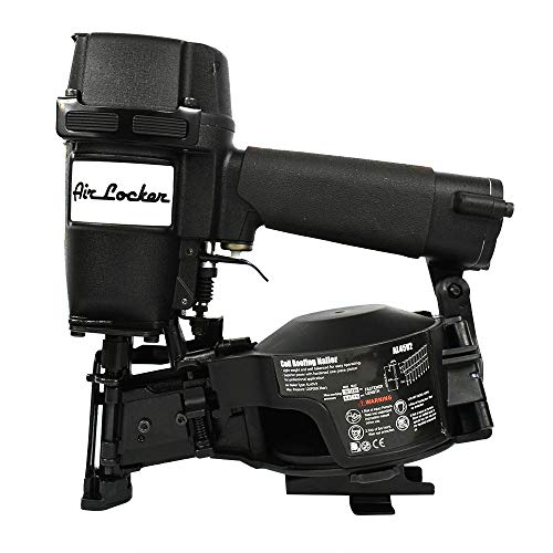 Air Locker AL45V2 7/8 Inch to 1-3/4 Inch Coil Roofing Nailer (Side Load) by ToolOrbit. Compare B0886CWXLB related items.