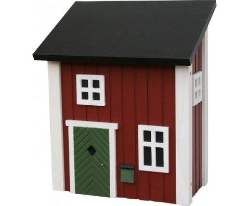 Wildlife Garden - Briefkasten - Postkasten - rot