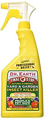 Dr. Earth 8003 Ready to Use Yard and Garden Insect Killer, 24-Ounce