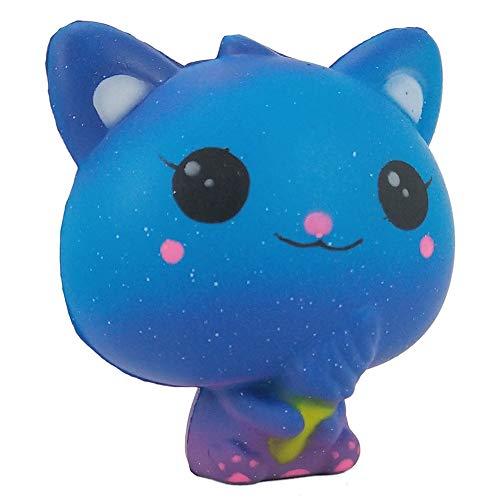 xinlong New Squishy Toys Squeeze Cute Bear Galaxy Color PU Foam Slow Rising Decompression Stress Ball Toys