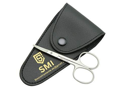 SMI - 9 cm ciseaux à ongles pour bébé, ciseaux à ongles pour ongle des doigtsongle d'orteil, bout rond pour la sécurité - acier inoxydable
