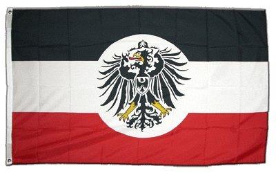 XXL Flagge Fahne Deutsches Reich Kolonialamt 150 x 250 cm