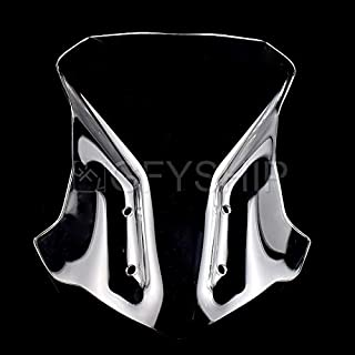 KYN for BMW G310GS 2017 2018 G 310 GS Wind Deflectors 17 18 Motorcycle Double Bubble Windshield Windscreens Accessories G310 GS (Clear)