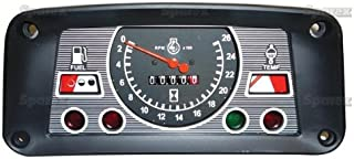 FORD TRACTOR INSTRUMENT CLUSTER E5NN10849BA 231, 233, 2600, 333, 335, 340, 3600, 3900, 4100, 420, 445, 4600, 515, 531, 532, 535, 540, 545, 550, 555, 5600, 6600, 7600